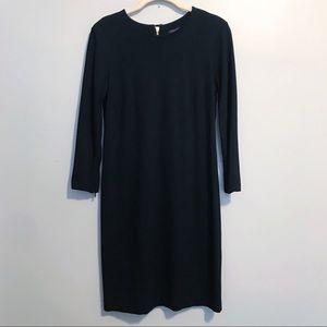 NWOT Ann Taylor black career dress back zip up